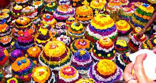 Bathukamma festival in Bhainsa