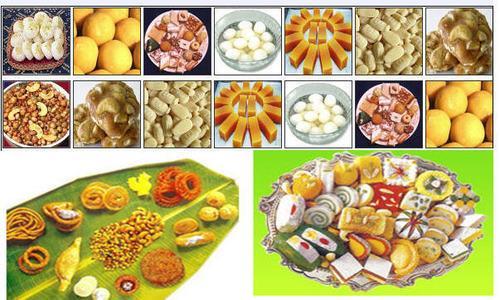 Sweets stalls in Kagaznagar