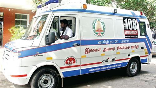 Ambulance service in Tirupur