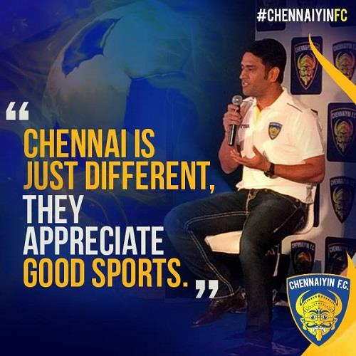 Chennaiyain FC Jersey Unveiling Function