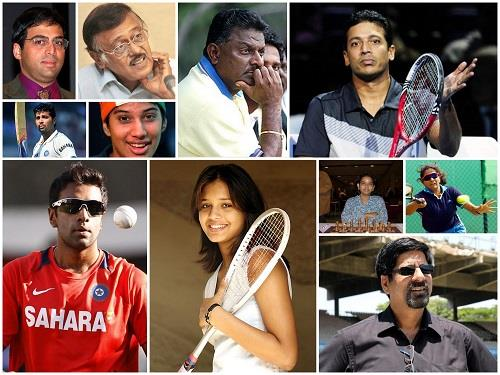 Prominent Sports Personalities of Tamil Nadu