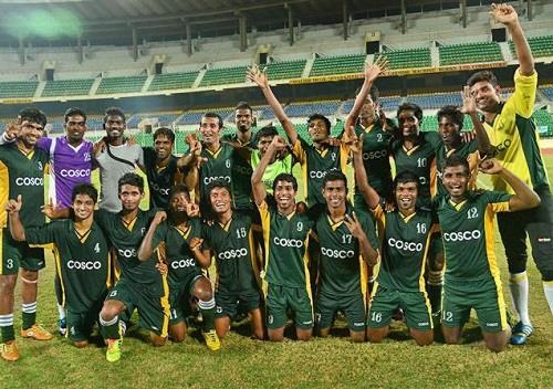 Football Team Tamil Nadu