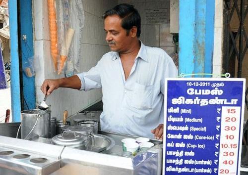 Jigarthanda Stall