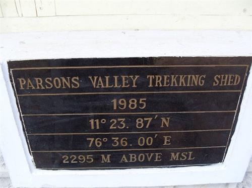 Parsons Valley Trekking Point