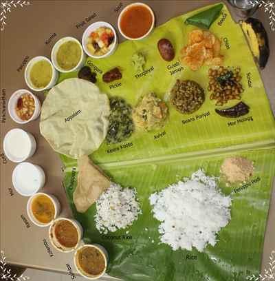 Full Vegetarian Meals of Tamil Nadu - Thali Meals
