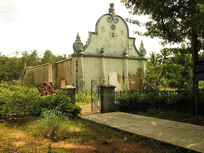 De lannoy Tomb Udayagiri Fort