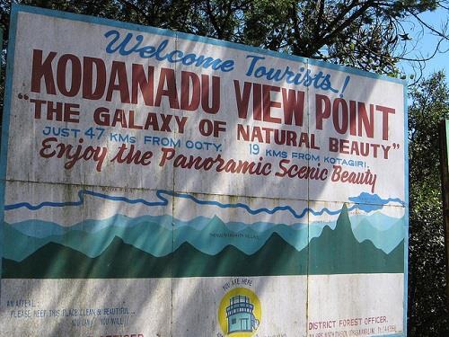 Kodanad View Point Kotagiri