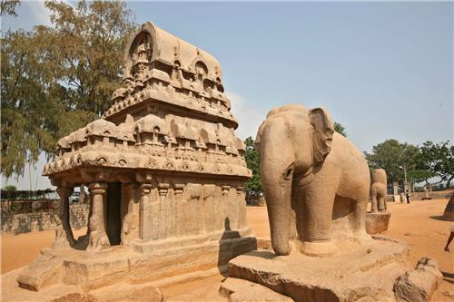 The Pancha Pandava Rathas