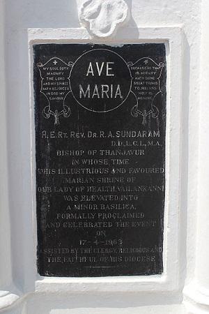 Apostalic Brief in Velankanni Church
