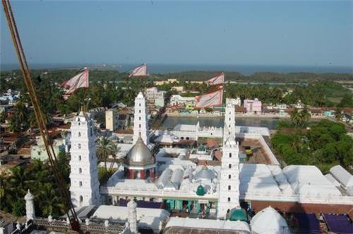 Nagore Dargah Aerial View