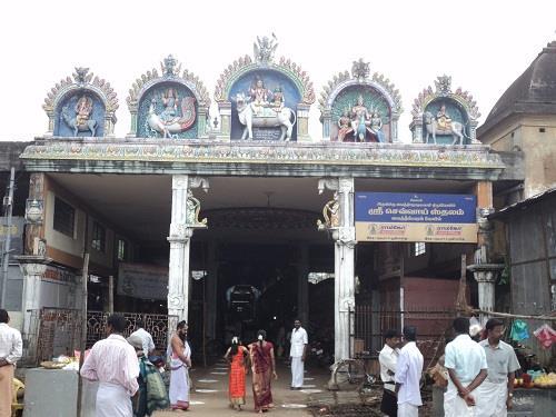 Entrance of VaitheeswaranKoil Sri Vaidyanathar Temple