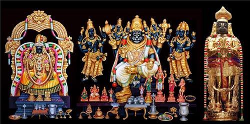 Deities of Namakkal Temple