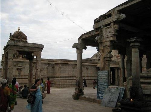 Inside Namakkal Temple