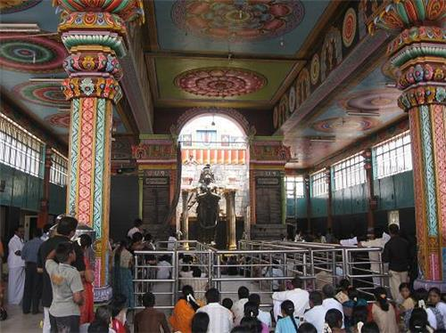 View of Namakkal Temple