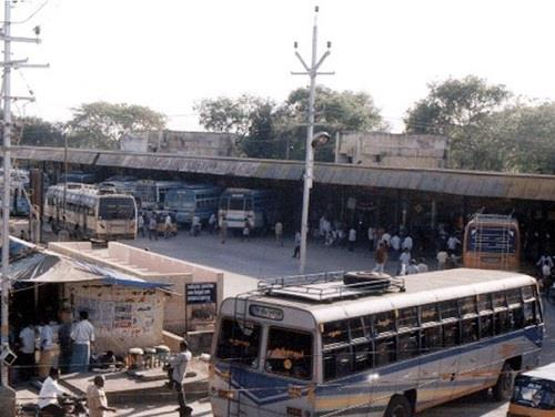 Bus Stand at Pudukkottai