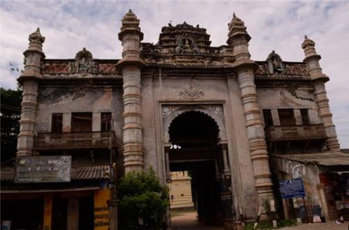Raja Palace in Ramanathapuram