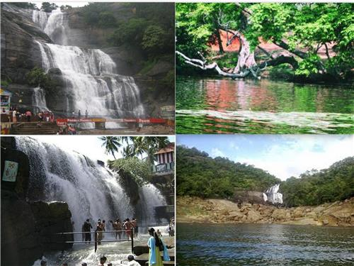 Waterfalls near Tiruchendur