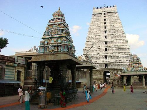 Thiruvannamalai Arunachaleswarar Temple Complex