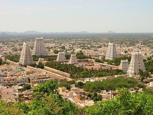 Annamalaiyar Temple in Tiruvannamalai