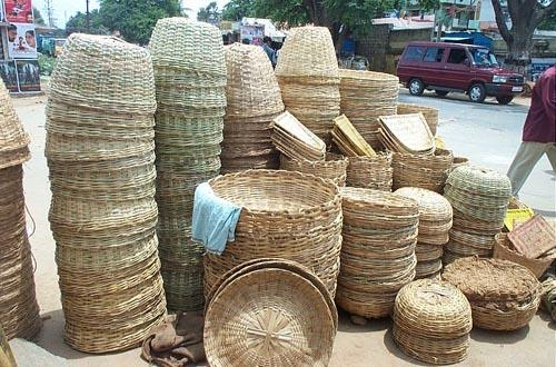 Handicraft Basketry : Tripura culture of dance and music