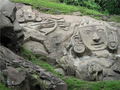 Unakoti Sculptures