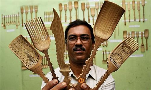 Bamboo works of tripura