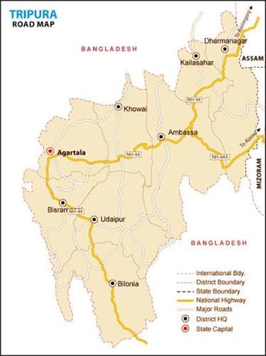 Tripura Roads