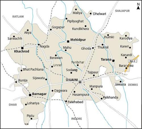 Geography of Ujjain