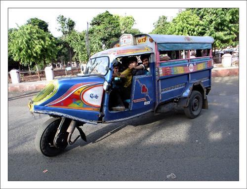 Internal Transportation Network of Ujjain