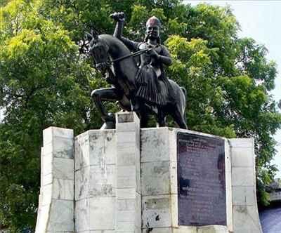 Statue of Rao Bux Singh