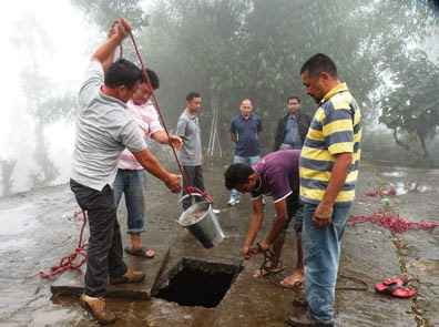 Cleanliness drive by the Public Health and Engineering Department of Uttar Pradesh