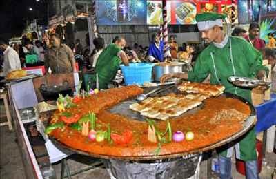 Vegetarian Street Food in Uttar Pradesh