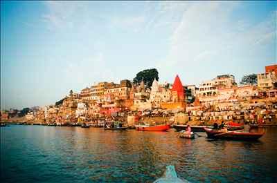 Varanasi Ghats along the Ganges