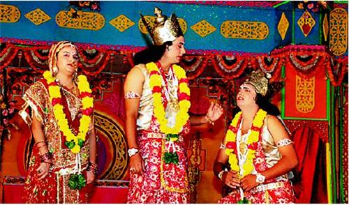 Ram Lila in Ayodhya