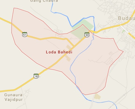 Areas and Localities in Badaun