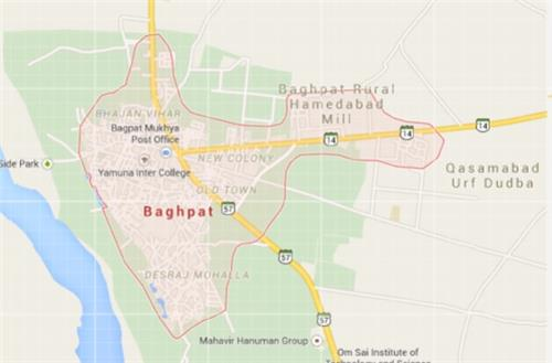 Geography of Baghpat