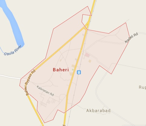 Geography of Baheri