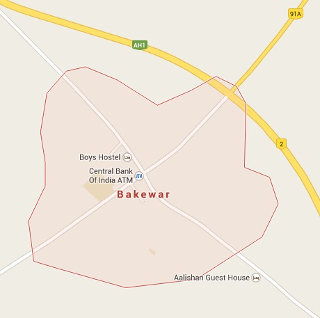 Geography of Bakewar