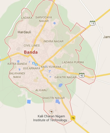 Geography of Banda