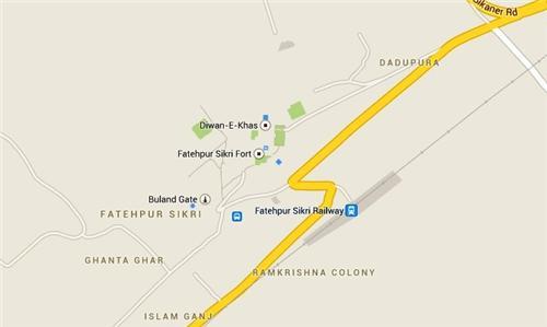 Fatehpur Sikri Geography