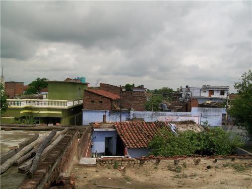 A View of the Town of Thiriya Nizamat Khan