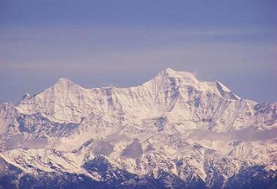 Bandar Poonch Glacier in Uttarakhand