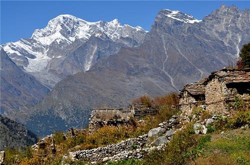 Glacier in Uttarakhand