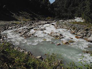 Pindar River in Uttarakhand