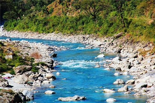 Ram Ganga River in Uttarakhand