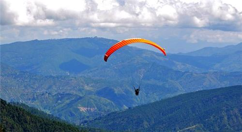 Rock Paragliding Adventure Sport in Uttarakhand