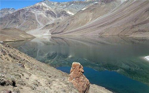 A view of the Chenab Lake near Gopeshwar