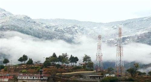 A view of the winters in Gopeshwar