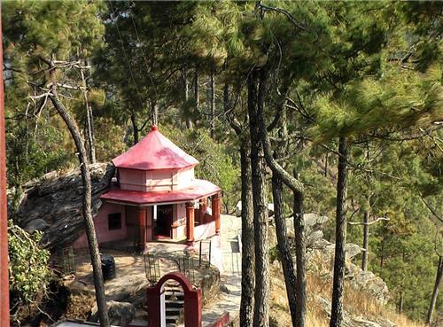 trip to binsar from Dwarahat
