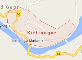 Geography of Kirtinagar